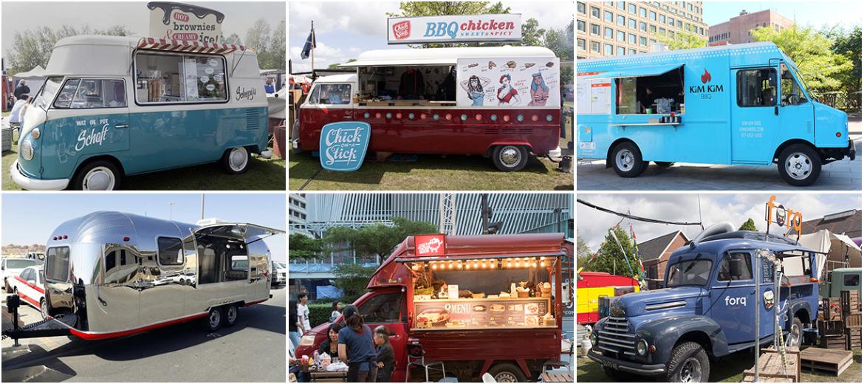 مصنع عربات الطعام إشتري مقطورة طعام أو شاحنة طعام